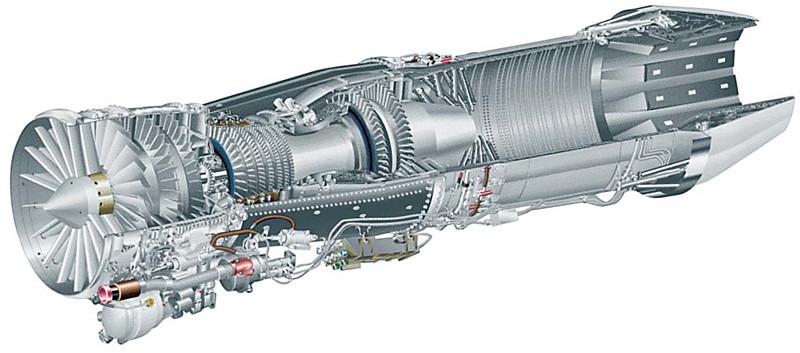 المقاتلة الذكية GRIPEN F414_cutaway
