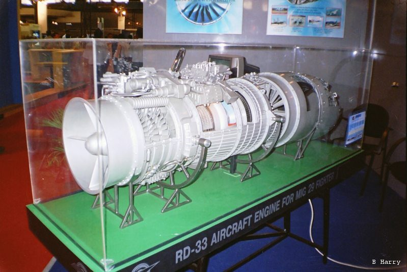 RD-33 Turbofan Engine